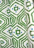 Thibaut Pass-A-Grille Linen in Green